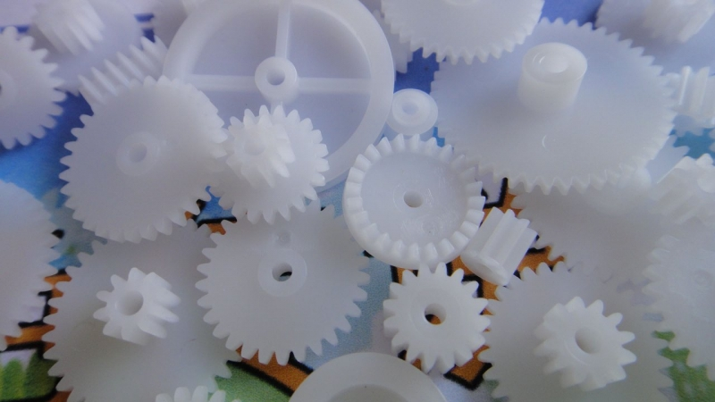 Plastic-gear-plastic-gear-reduction-gear-module-M0-5-crown-gear-teeth-more-specifications